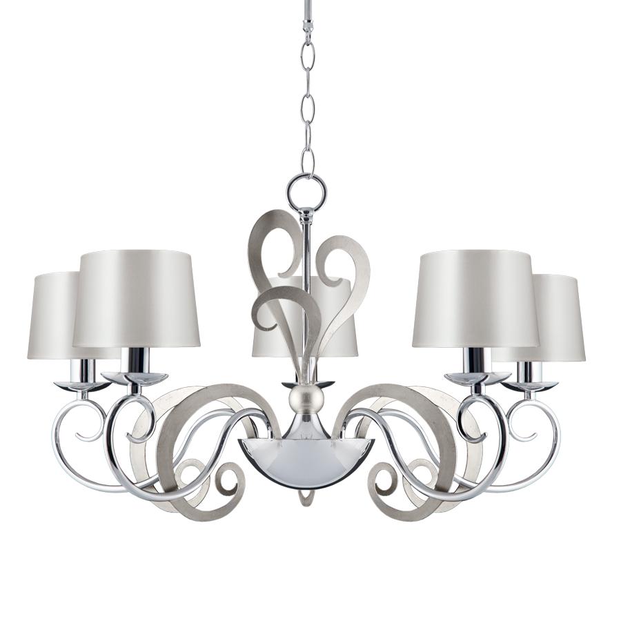 Eleonor 5 light 2 tone chrome ceiling light online lighting shop aloadofball Image collections