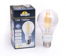 E27 Filament LED Lamp 12W 2700K