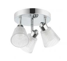 Gatsby 3 Light Bathroom Ceiling Light Polished Chrome - Coming Soon!