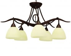 Paola 5 Light Flush Fitting