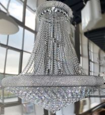 Sienna 29 Light 1200mm Crystal Chrome Ceiling Light