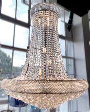 Sienna 14 Light 800mm Crystal Chrome Ceiling Light