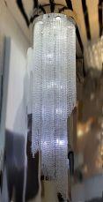 Willow 21 Light 1800mm Large Crystal Chrome Ceiling Light
